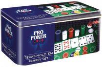 Игровой набор Pro-Poker Texas Hold´em в металлической упаковке