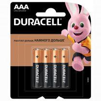Батарейки DURACELL LR03/MN2400 4BP CN
