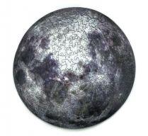 Фигурный деревянный пазл И-ной - Луна