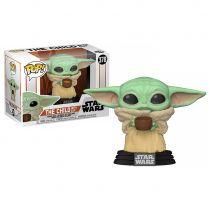 Фигурка Funko POP! Bobble Star Wars Mandalorian The Child w/cup