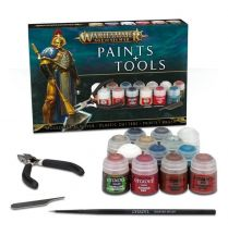 Age of Sigmar: Paints + Tools ENG/SPA/PORT/LATV/ROM