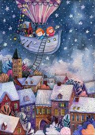 Мини-набор Рождественские истории, Пазл