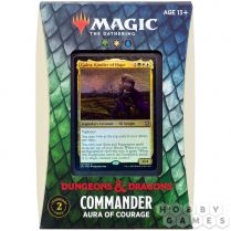 MTG. Commander. Adventures in the Forgotten Realms: Aura of courage