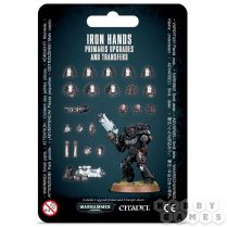 Iron Hands Primaris Upgrades and Transfers Sheets