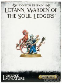 Idoneth Deepkin: Lotann Warden of the Soul Ledgers