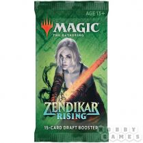 MTG. Zendikar Rising - драфт-бустер на английском языке