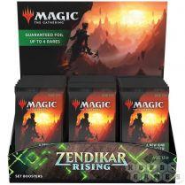 MTG. Zendikar Rising - дисплей бустеров выпуска на английском языке