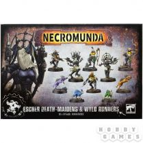Necromunda: Escher Death Maidens and Wyld Runners