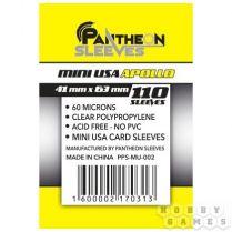 Протекторы Pantheon Sleeves Apollo USA mini стандарт (110 шт., 41x63 мм)