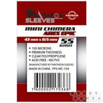 Протекторы Pantheon Sleeves Ares Epic Chimera mini премиум (55 шт., 43x65 мм)
