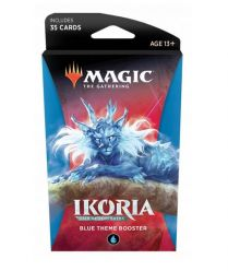 Magic. Ikoria: Lair of Behemoths. Blue Theme Booster