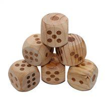 Гигантский кубик, дерево, 6 штук