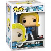 Фигурка Funko POP! Bobble: Marvel: Fantastic Four: Invisible Girl (TRL) (Exc)