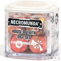 Necromunda: House of Faith Dice Set