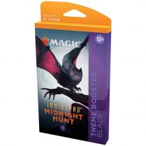 Innistrad: Midnight Hunt. Black Theme Booster