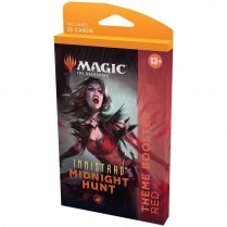 Innistrad: Midnight Hunt. Red Theme Booster