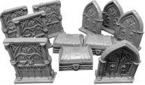 Клинок и колдовство (Sword & Sorcery) Набор дверей и сундуков