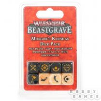 Warhammer Underworlds Beastgrave: Morgok's Krushas Dice Set