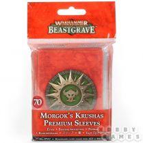 Warhammer Underworlds Beastgrave: Morgok's Krushas Premium Sleeves