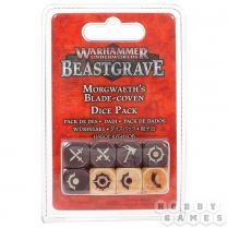 Warhammer Underworlds Beastgrave: Morgwaeth's Blade-Coven Dice Set