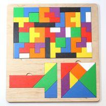 Пазл деревянный TetrisWood,  Танграм,