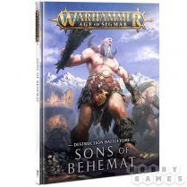 Battletome: Sons of Behemat (Hardback)