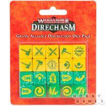 Warhammer Underworlds: Grand Alliance Destruction Dice Pack