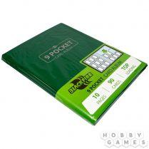 Альбом Blackfire 9 (с листами по 3x3 кармашка): Зелёный