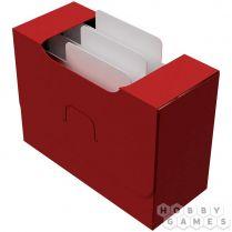 Картотека UniqCardFile Standart 40 mm (пластик поливинилхлорид, красный)