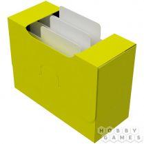Картотека UniqCardFile Standart 40 mm (пластик поливинилхлорид, желтый)