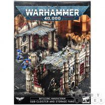 Battlezone: Manufactorum. Sub-Cloister and Storage Fane