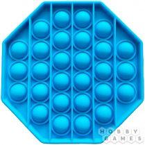 Игрушка-антистресс Pop It Восьмиугольник (голубой)