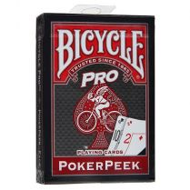 Bicycle ProPokerPeek (красные)