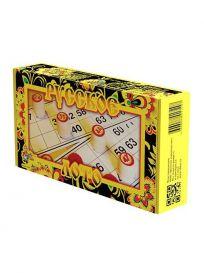 Настольная игра: Лото Русское (желтое)