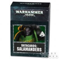 Datacards: Salamanders 8th edition (ENGLISH)