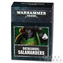 Datacards: Salamanders 8th edition (ENGLISH)