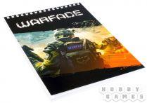 WarFace. Блокнот для записей