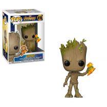 Фигурка Funko POP! Bobble:Marvel: Avengers Infinity War S2: Groot w/Stormbreaker
