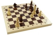 Шахматы Гроссмейстерские деревянные 43х43см