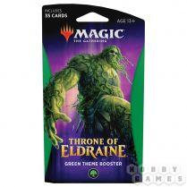 Magic. Throne of Eldraine Green Theme Booster
