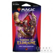 Magic. Throne of Eldraine Red Theme Booster