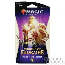 Magic. Throne of Eldraine White Theme Booster