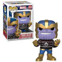Фигурка Funko POP! Bobble Marvel: Holiday: Thanos