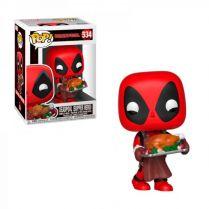 Фигурка Funko POP! Bobble Marvel: Holiday Deadpool