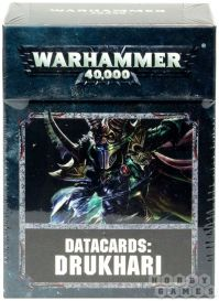 Datacards: Drukhari 8th edition (English)