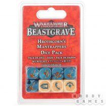 Warhammer Underworlds Beastgrave: Hrothgorn's Mantrappers Dice Set