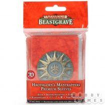 Warhammer Underworlds Beastgrave: Hrothgorn's Mantrappers Sleeves