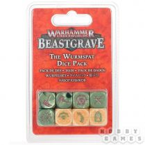 Warhammer Underworlds Beastgrave: The Wurmspat Dice Set