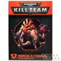 Kill Team: Tyranids Commander Set. Nemesis 9 Tyrantis