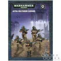 Astra Militarum. Cadians. Easy to Build